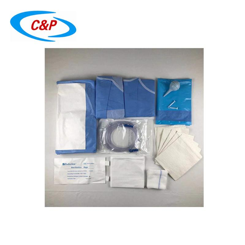 Disposable Gynecology Surgical Pack Medical C-Section Drape Pack