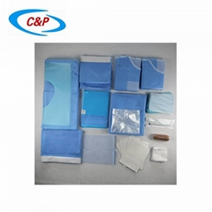 CE ISO13485 Certified Sterile Hip Surgical Drape Pack