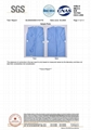 Disposable Non woven AAMI Level 3 Isolation Gown 7