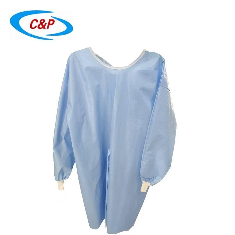 Disposable PP+PE Isolation Gown Manufacturer 2
