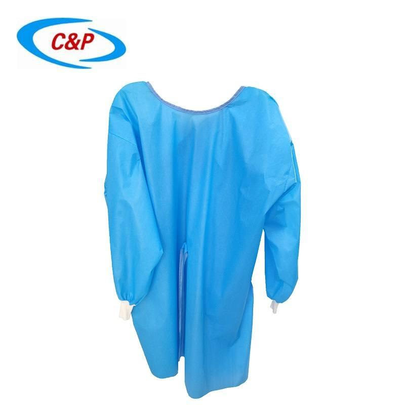 Disposable PP+PE Isolation Gown Manufacturer 3