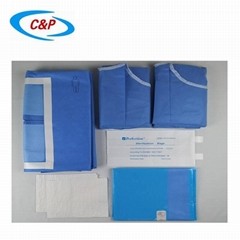 CE ISO13485 Approved Medical Sterile Laparotomy Surgical Drape Pack (Hot Product - 1*)