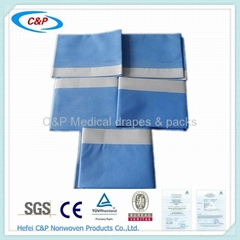 Adhesive Surgical Side Drapes