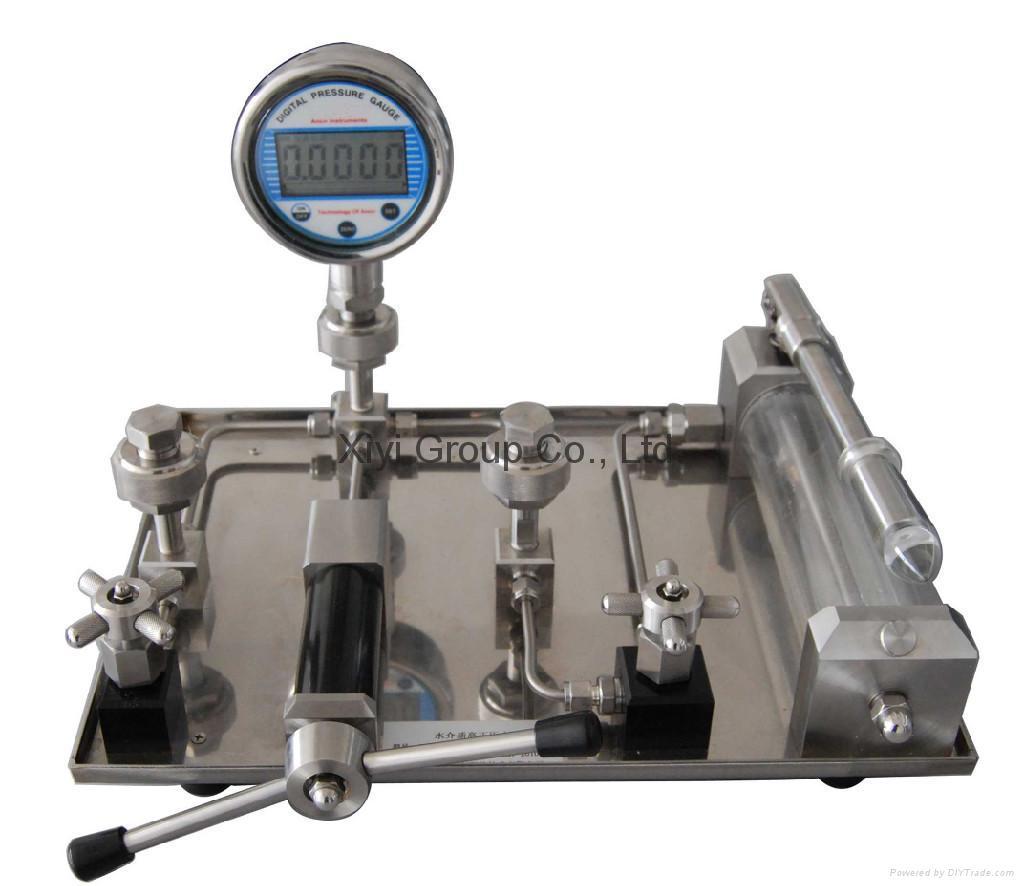 manual hydraulic pressure source china manufacturer
