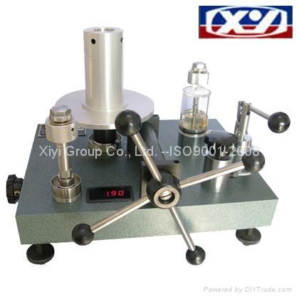 Wide Range Dead Weight Pressure Tester High Pressure