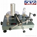 Wide Range Dead Weight Pressure Tester High Pressure