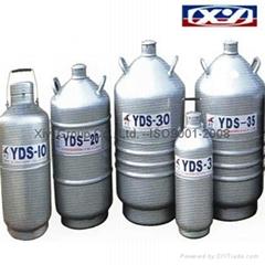 Dewars Storage type Liquid Nitrogen Biological Containers