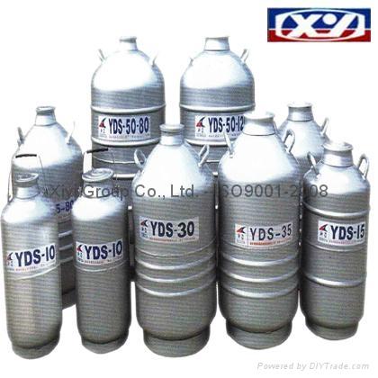 Dewars Large diameter Liquid Nitrogen Biological Containers