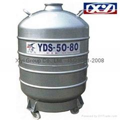 Dewars 50Liters Liquid nitrogen biological containers