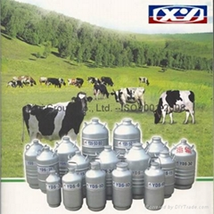 Dewar Liquid nitrogen biological container
