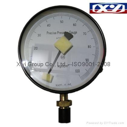 Precise pressue gauge