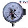 Pressure Gauge with Electric Contacts