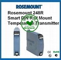 Rosemount 248R Din Rail mount Temperature Transmitter
