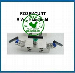 Rosemount 5 way manifold