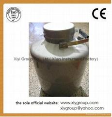 New 6L Cryogenic Container Liquid Nitrogen LN2 Dewar Tank