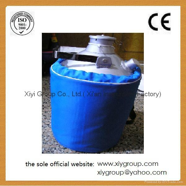 Cryogenic Container Liquid Nitrogen LN2 Dewar Tank w/ Straps