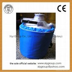 New 30L Cryogenic Container Liquid Nitrogen LN2 Dewar Tank w/ Straps