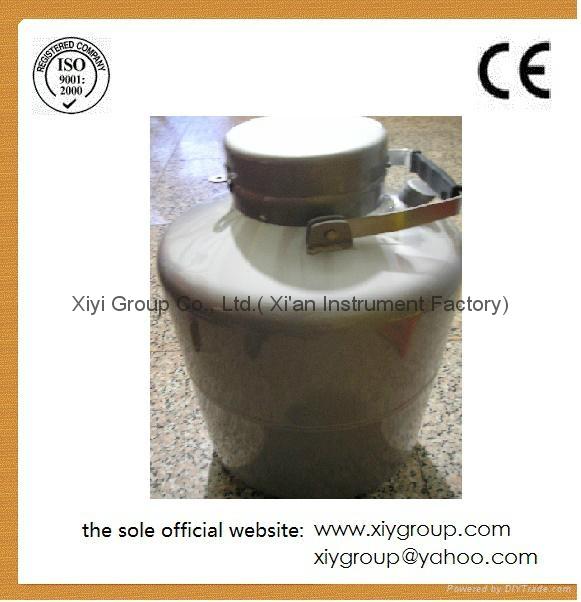 New 35L Cryogenic Container Liquid Nitrogen LN2 Dewar Tank w/ Straps