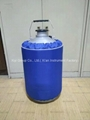 New 3L Cryogenic Container Liquid Nitrogen LN2 Dewar Tank w/ Straps