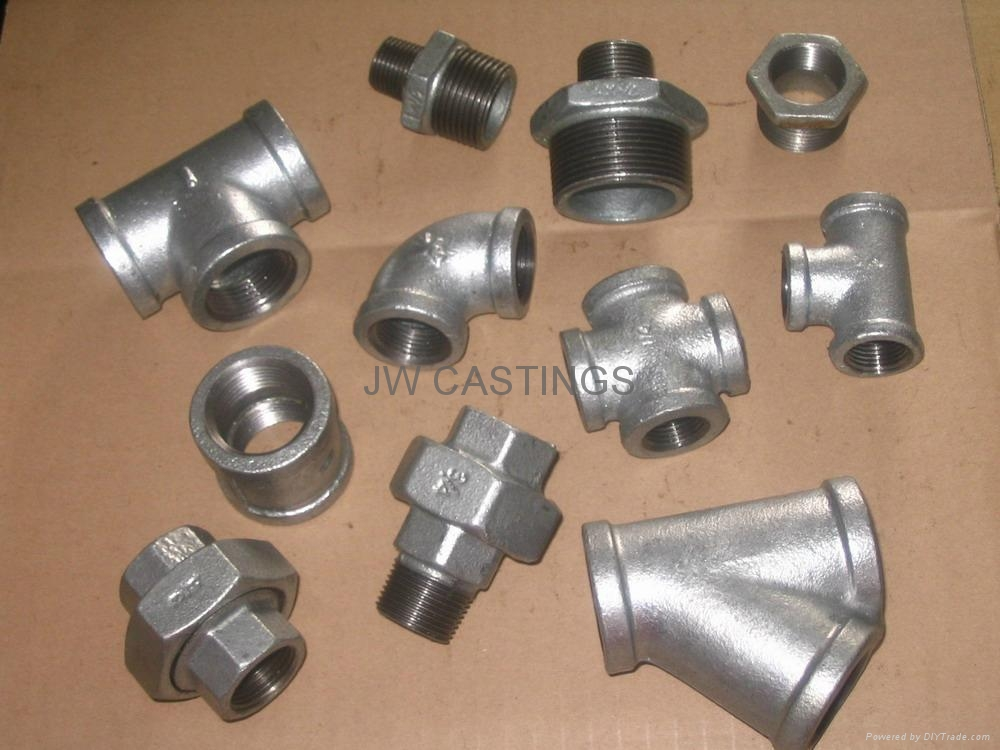 Malleable cast iron pipe fittings american std npt