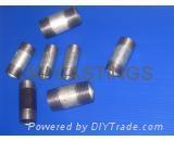 WELDABLE carbon steel pipe/barrel nipples BSPT / NPT LONG NIPPLE