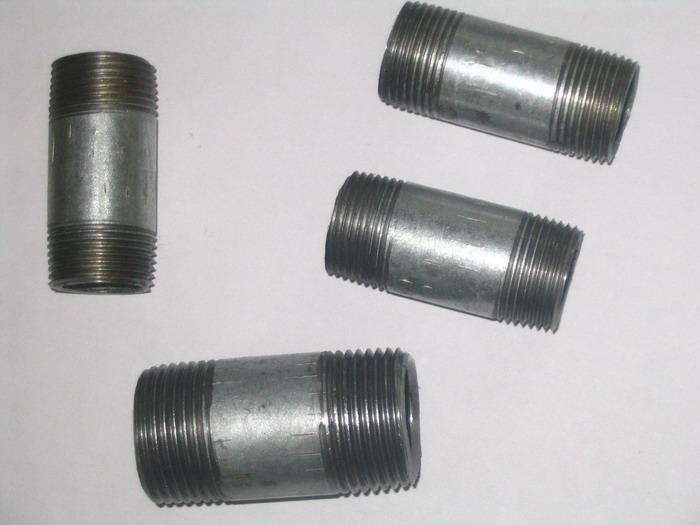 WELDABLE carbon steel pipe/barrel nipples BSPT / NPT LONG NIPPLE 2