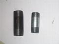 WELDABLE carbon steel pipe/barrel nipples BSPT / NPT LONG NIPPLE 3