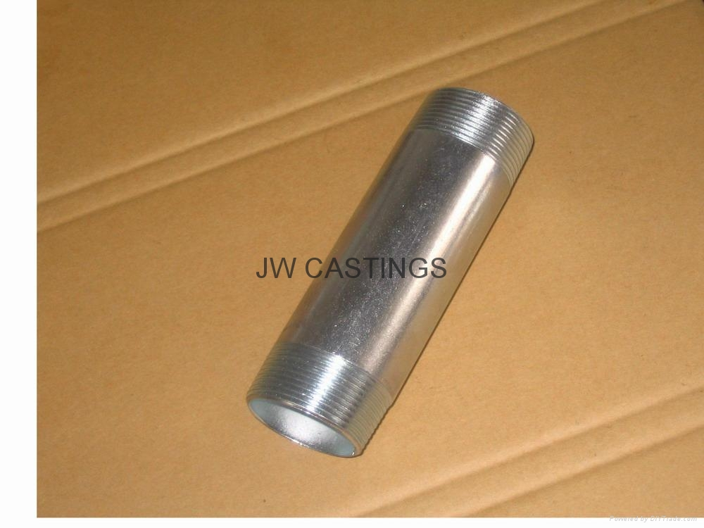 carbon steel pipe nipple/barrel nipple NPT/BSPT 1