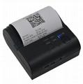 POS-8001 80mm Bluetooth 4.0 thermal printer portable USB bill printer 8