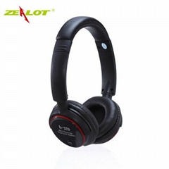 Zealot B370 Wireless Stereo Bluetooth Headphone Headset Handfree Microphone TF