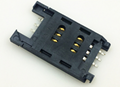 SIM card holder connector 6 and 8 pins