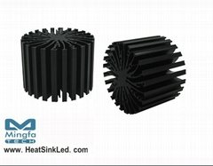 EtraLED-SEO-70 for Seoul Modular Passive LED Cooler Φ70mm