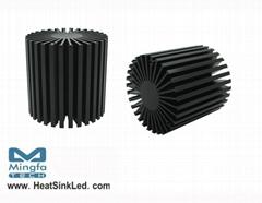 SimpoLED-LUS-8180 for Lustrous Modular Passive LED Cooler Φ81mm