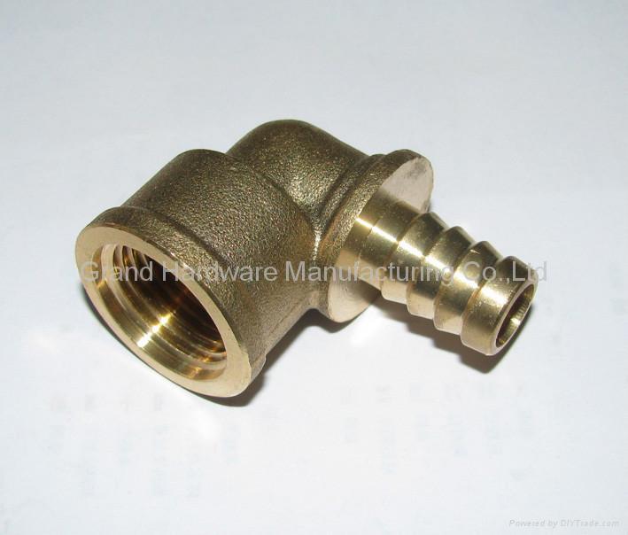 Brass hose barb 1