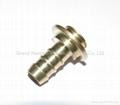 Brass hose connector 2