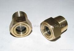 male thread oil level sight glass plug