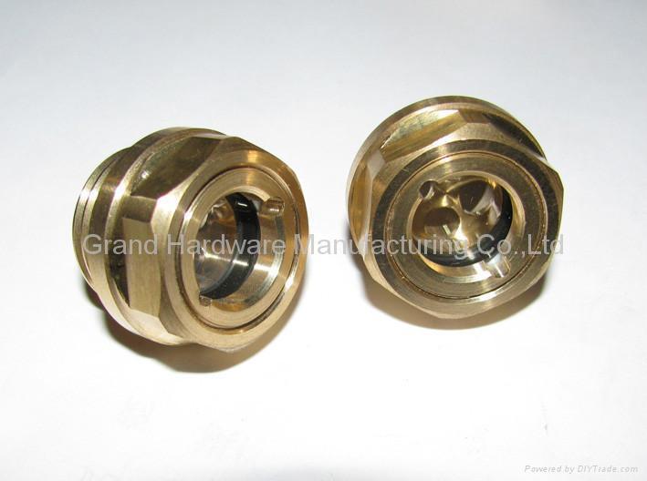 空壓機鋁制油液視鏡油鏡M20x1.5 6