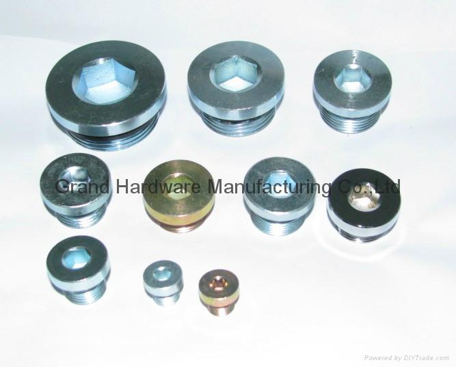 High pressure hydraulic hex sockets oil drain plugs china