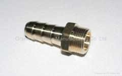 Brass hose
