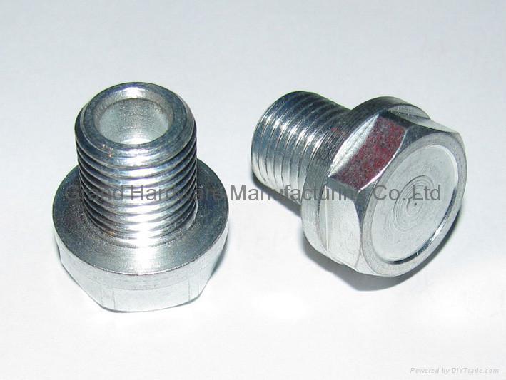 Hexagon Steel oil drain plugs 4