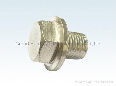 Hexagon Steel oil drain plugs 5