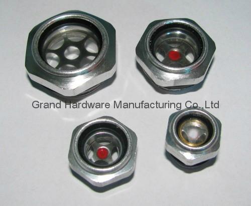 G1/2 英吋空壓機鋁油鏡 1