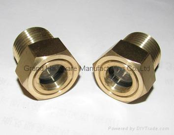G1/2 英吋空壓機鋁油鏡 4
