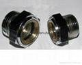 UNF steel oil sight plug for transfer equipment