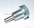 steel oil drain plug with magnet 3