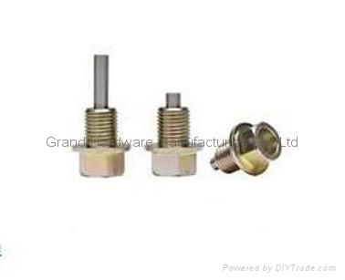 steel oil drain plug with magnet 4