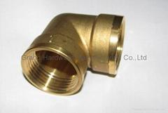 brass elbow,brass tee