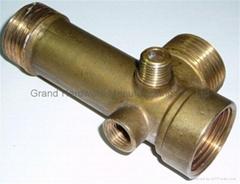Five way brass manifolds