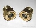 NPT 1 Brass Oil Sight Glass