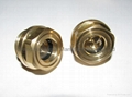 """G1/2"""" Brass Oil sight glass for gearboxes"""